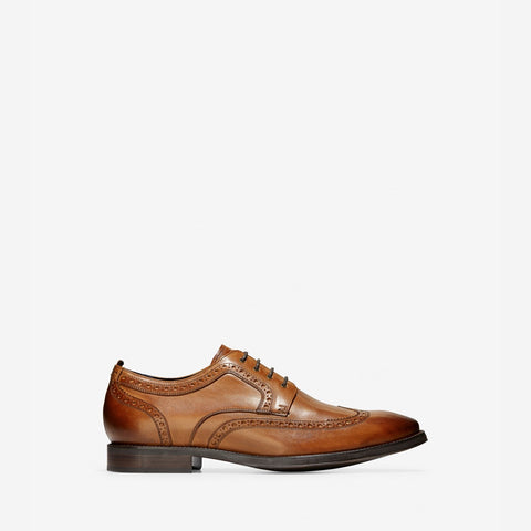 Men's Jefferson Grand 2.0 Wingtip Oxford British Tan