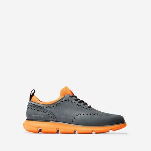 Men's 4.ZERØGRAND Oxford Nubuck/Vibrant Orange