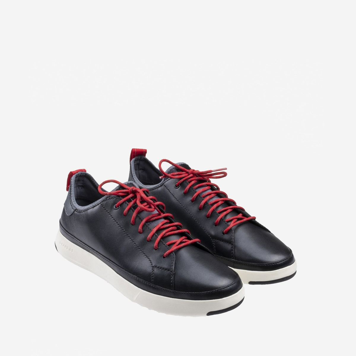 Men's GrandPrø Tennis Waterproof Trainer Black/Reflective/Red