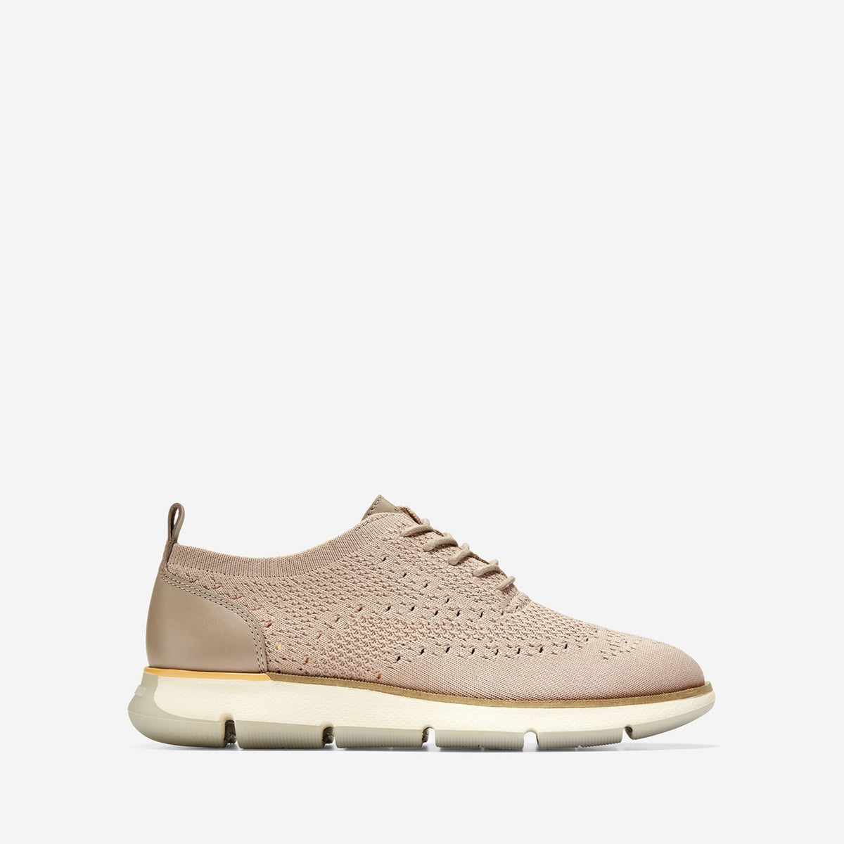 Women's 4.ZERØGRAND Stitchlite Oxford Trainer Etherea/Pumpkin