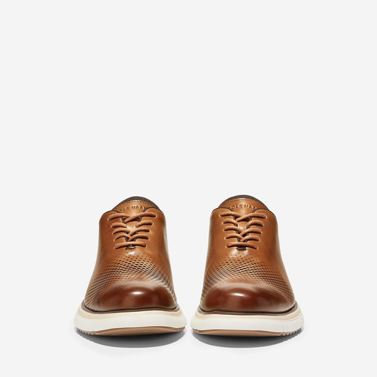 Men's ZERØGRAND Eon Wingtip Oxford CH British Tan/Dark Roast