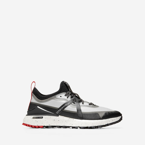 Men's ZERØGRAND Overtake All Terrain Runner Black/Optic White