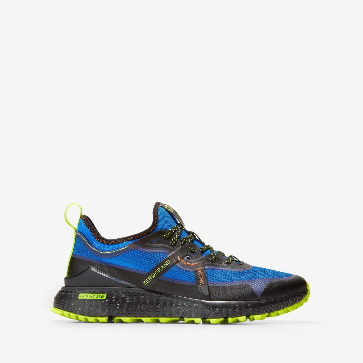 Men's ZERØGRAND Overtake All Terrain Runner Navy Ink Multi/Black
