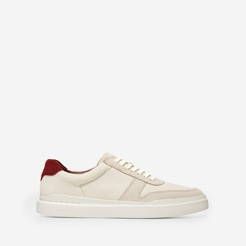 Men's GrandPrø Rally Court Trainer Ivory/Pelican/Tawny Port