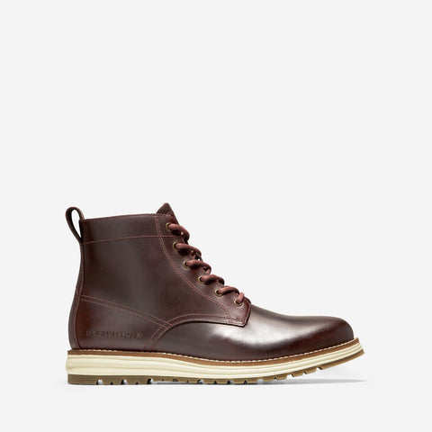 Men's ØriginalGrand Waterproof Work Boot WP Chestnut Leather/Hawthorn