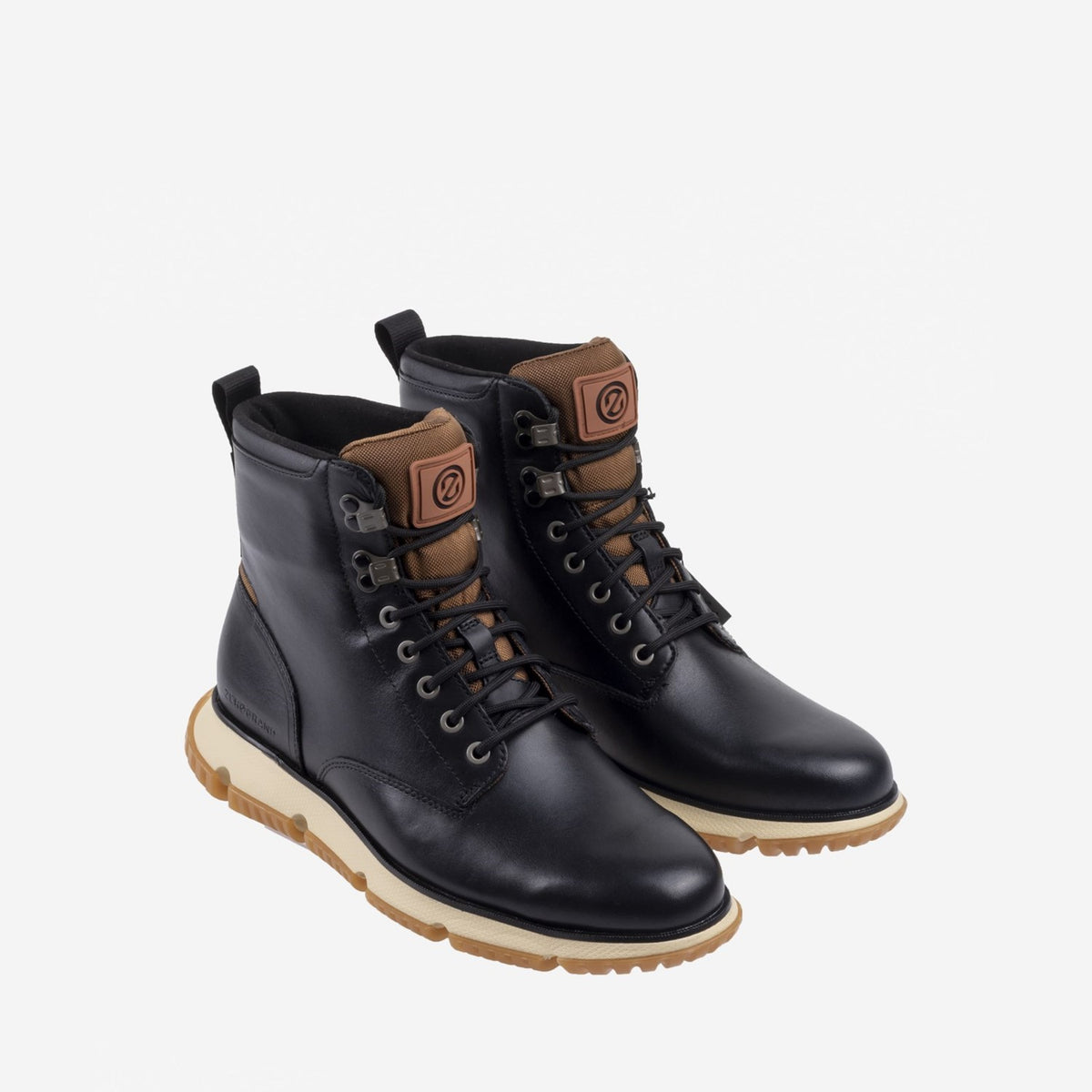 Men's 4.ZERØGRAND City Waterproof Boot Black WP/Lambswool