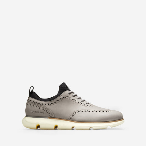 Men's 4.ZERØGRAND Oxford Ironstone Nubuck/Ivory