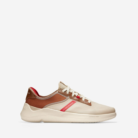 Men's ZERØGRAND Winner Tennis Trainer Tan/Red