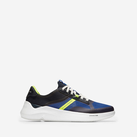 Men's ZERØGRAND Winner Tennis Trainer Navy/White