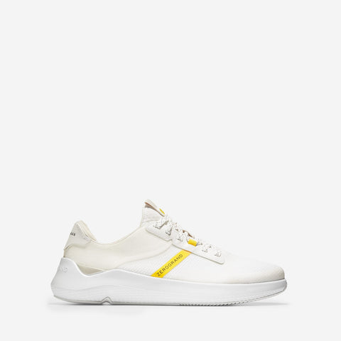 Men's ZERØGRAND Winner Tennis Trainer White/Yellow
