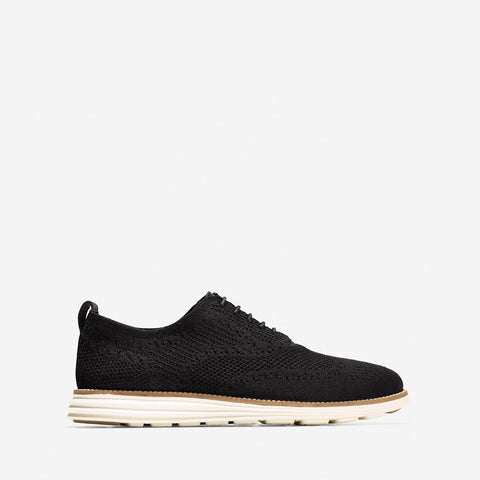 Men's ØriginalGrand Stitchlite Wingtip Oxford Black/White