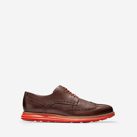 Men's ØriginalGrand Wingtip Oxford Brown/Red