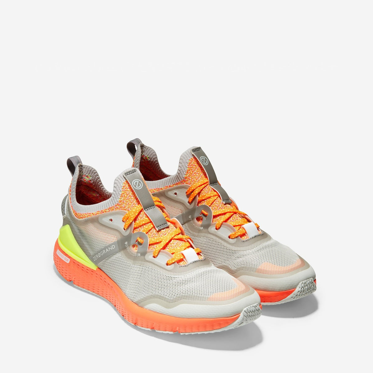 Men's ZERØGRAND Overtake Runner Grey/Orange