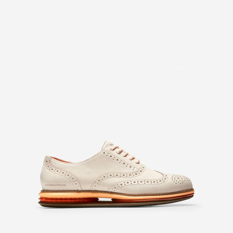 Women's ØriginalGrand Energy Twin Oxford Ivory/Orange