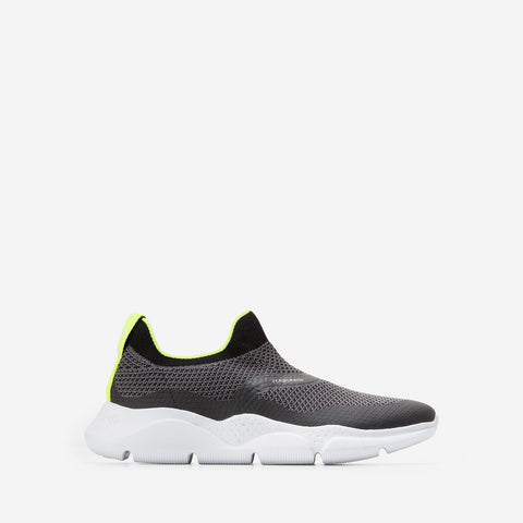 Women's ZERØGRAND Radiant Slip On Trainer Black/White