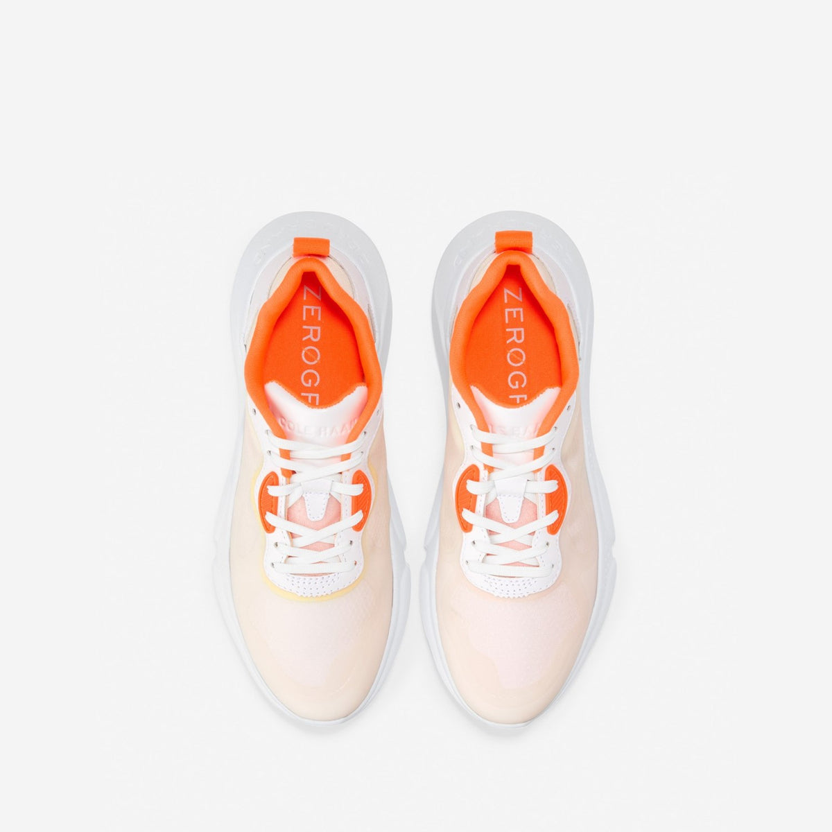 Women's ZERØGRAND Radiant Trainer Orange/White