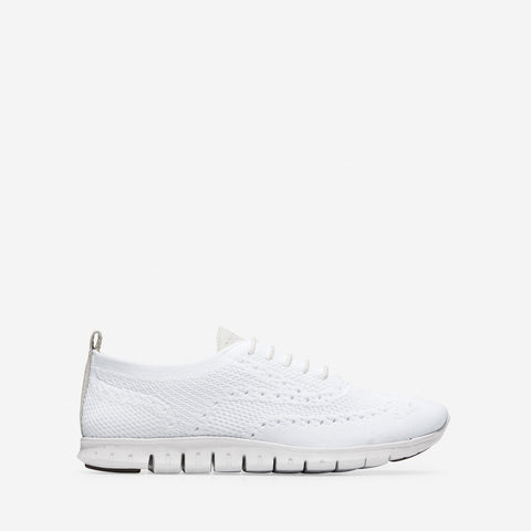 Women's ZERØGRAND Stitchlite Oxford White