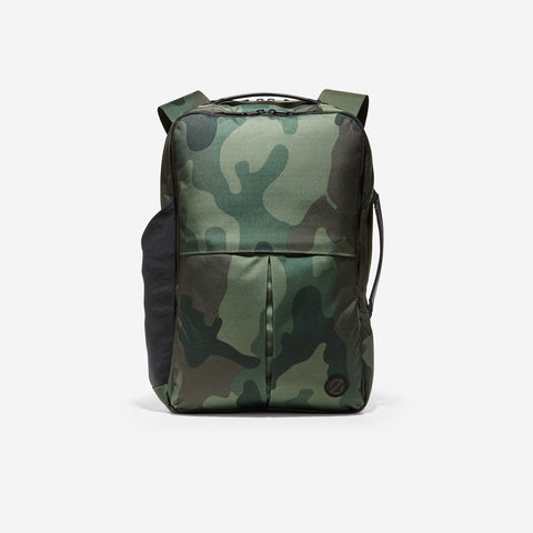Men's ZERØGRAND Slim Convertible Backpack Camo