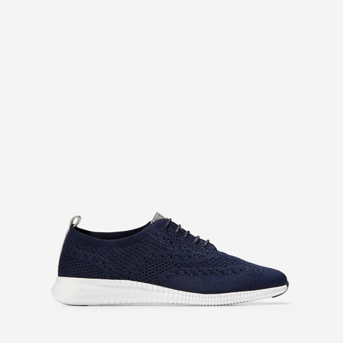 Women's 2.ZERØGRAND Stitchlite Oxford Marine Blu/Argento Metal/Optic
