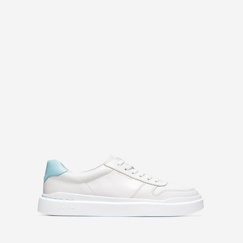 Women's GrandPrø Rally Court Trainer Optic White/Crystal Blue