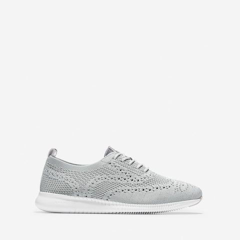 Women's 2.ZERØGRAND Wingtip Oxford Argento/Grey/White