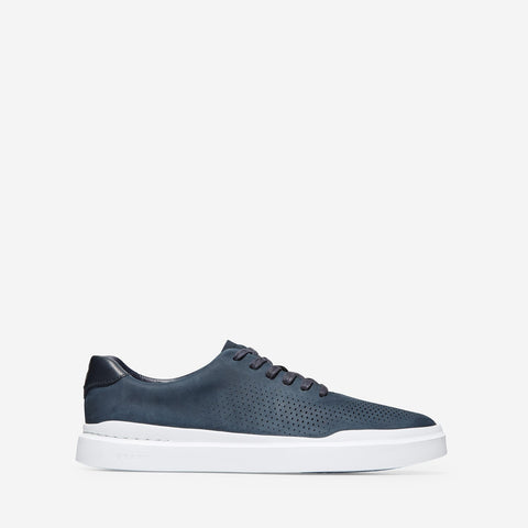 Men's GrandPrø Rally Laser Cut Trainer Navy