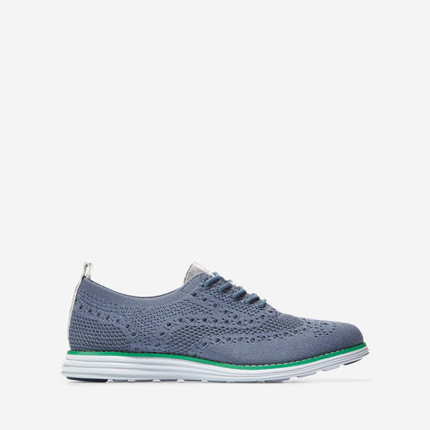 Women's ØriginalGrand Stitchlite Wingtip Oxford Mid Blue