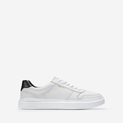 Women's GrandPrø Rally Court Lace Up Trainer Optic White/Optic