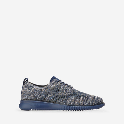 Men's 2.ZERØGRAND Stitchlite Oxford Navy/Grey