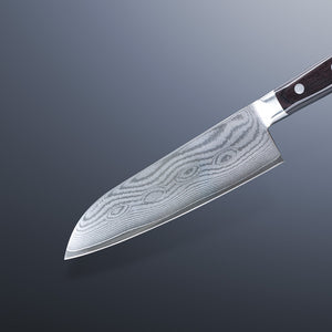 VG10 Damascus Santoku Knife 180mm Made in Japan