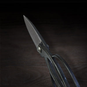 HONMAMON 'SAHO' Garden Shears  for Right Hander, Japanese Craftsman Handmade Shirogami Steel