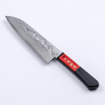 "HONMAMON ""SHIGEHIRO SPECIAL"" Santoku (Multi-Purpose Knife) VG10 Damascus, 170mm"