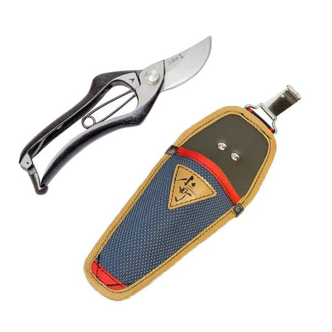 """HANAKUMAGAWA"" Pruning Shears Type A 200mm(7.9"") with Nylon Case, Made in Japan"