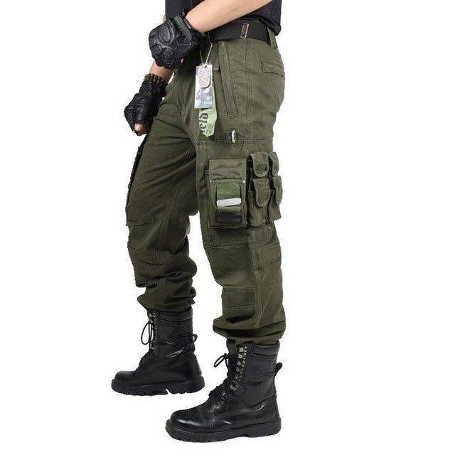 Men's Work Wear Multi-Pocket Combat Pant