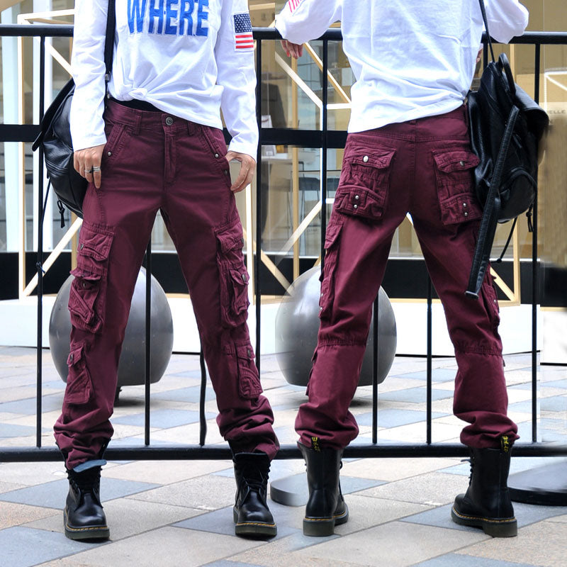 Daily Casual Wear Women Cargo Pant Large Size Available