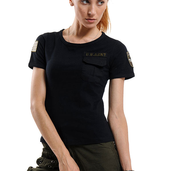 Classic US Army Style Women T-Shirt