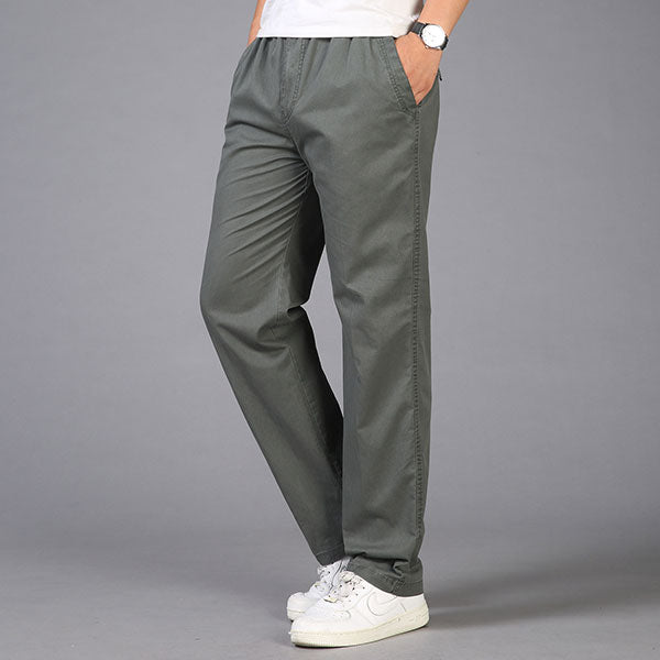 Casual Wear Straight Plus Size Cargo Pant