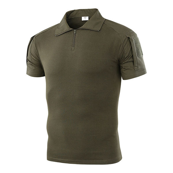 Men Summer Tactical Short Sleeve T-Shirt