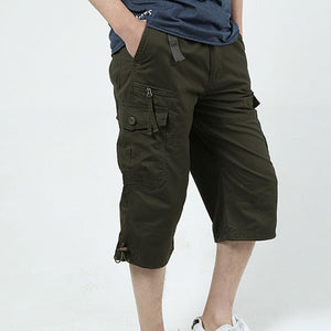 Casual Wear Straight Men's Short Pant
