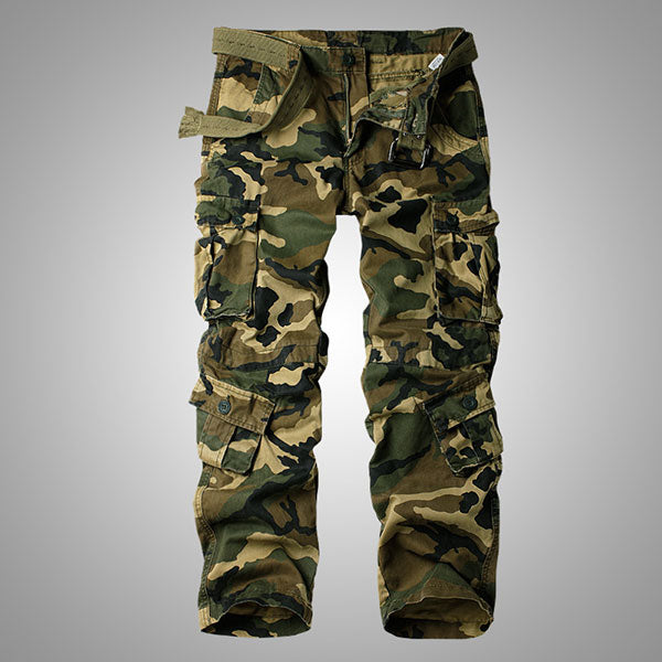 Camouflage Daily Wear Men's Cargo Pant Side Pocket Element