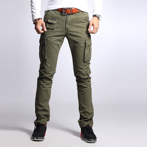 100% Cotton Leisure Wear Men's Cargo Pant Multi-Colors
