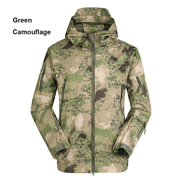 Classic Shark Skin Men's Tactical Jacket