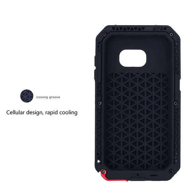 Snow Dirty and Shock Proof Phone Case For  Galaxy S7