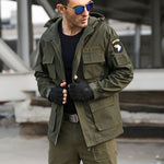 Army Style 100% Cotton Made Jacket For Autumn and Winter