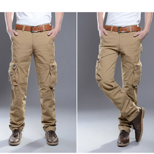 Multi-Pocket Casual Comfort-Wear Men Pant