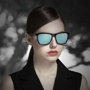 Unisex Retro Aluminum  Polarized Lens Sunglasses