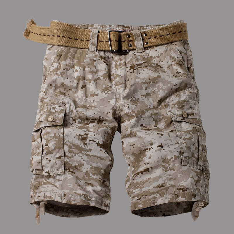Camouflage Style Causal Wear Men's Short Pant