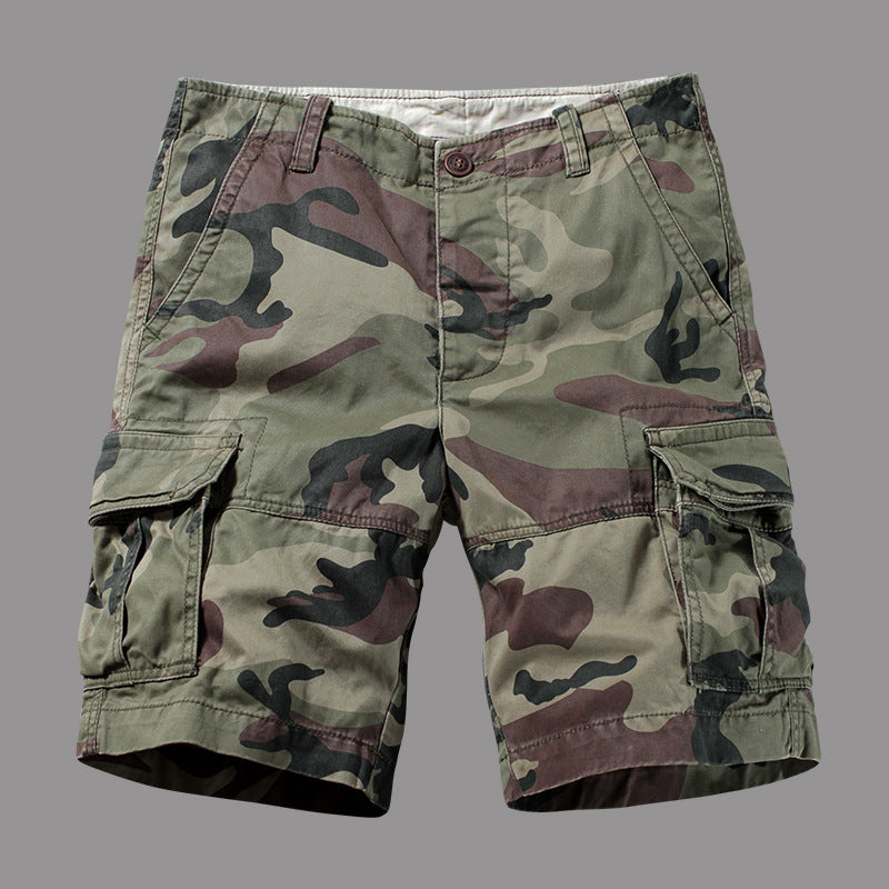 Loose Stright Men's Short Cargo Pant