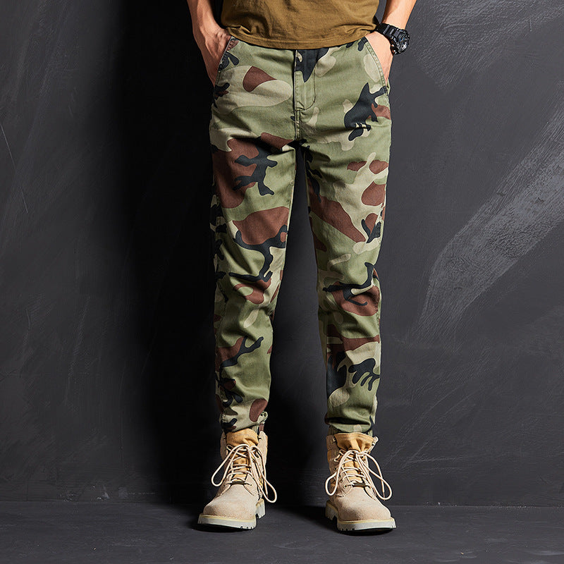 Casual Loose Straight Men's Cargo Pant