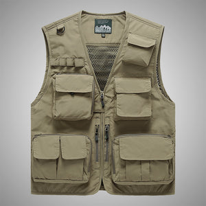 Men's Functional Vest For Outdoor Sports
